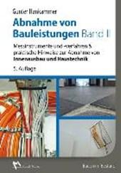 Abnahme von Bauleistungen Band II