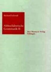 Althochdeutsche Grammatik II