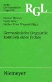 Germanistische Linguistik: Konturen eines Faches