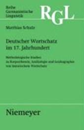 Deutscher Wortschatz im 17. Jahrhundert