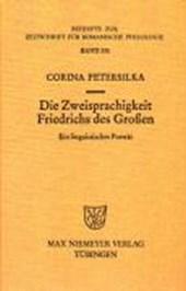 Die Zweisprachigkeit Friedrichs des Großen