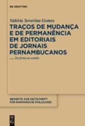 Traços de mudança e de permanência em editoriais de jornais pernambucanos