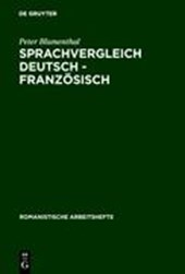Sprachvergleich Deutsch - Französisch