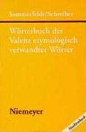 Wörterbuch der Valenz etymologisch verwandter Wörter