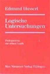 Logische Untersuchungen. 3 Bände