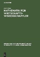 Mathematik für Wirtschaftswissenschaftler