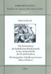 Die Entwicklung der katholischen Kirchenmusik in der zweiten Hälfte des 20. Jahrhunderts