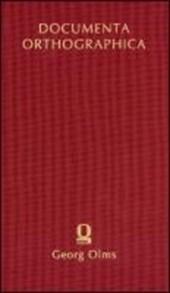 Konrad Dudens orthographische Schriften