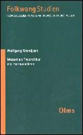 Mozart als Theoretiker der Harmonielehre