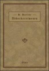 Handbuch des Abdeckereiwesens
