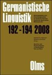 Germanistische Linguistik / Sprache und Kommunikation in Deutschland Ost und West