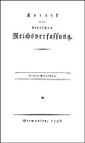 Kritik der deutschen Reichsverfassung