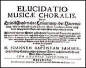 Elucidatio Musicae choralis