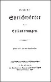 Deutsche Sprichwörter mit Erläuterungen