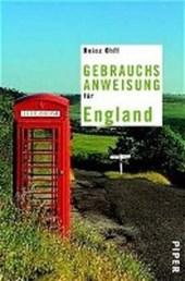Gebrauchsanweisung für England
