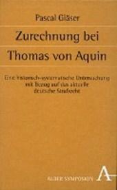 Zurechnung bei Thomas von Aquin