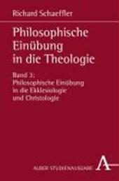 Philosophische Einübung in die Theologie