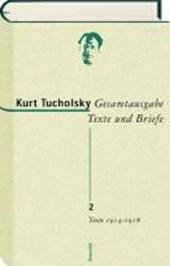 Gesamtausgabe 2. Texte 1914-1918