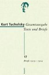 Gesamtausgabe 17. Briefe 1919-1924