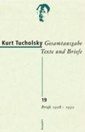 Gesamtausgabe 19. Briefe 1928-1932