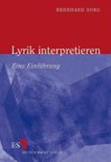 Lyrik interpretieren | Bernhard Sorg |