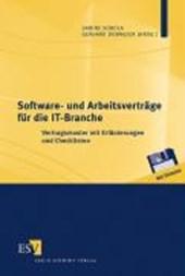 Software- und Arbeitsverträge für die IT-Branche