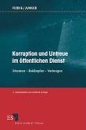 Korruption und Untreue im öffentlichen Dienst