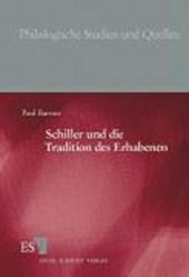 Schiller und die Tradition des Erhabenen