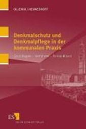 Denkmalschutz und Denkmalpflege in der kommunalen Praxis