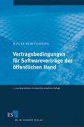 Vertragsbedingungen für Softwareverträge der öffentlichen Hand