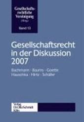 Gesellschaftsrecht in der Diskussion