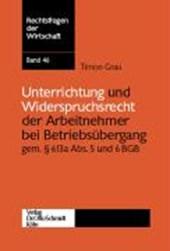 Unterrichtung und Widerspruchsrecht der Arbeitnehmer bei Betriebsübergang gemäß §613a Abs. 5 und 6 BGB