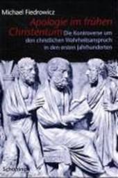 Apologie im frühen Christentum