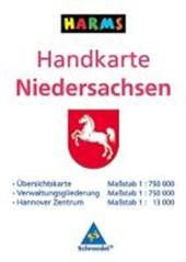 Handkarte Niedersachsen