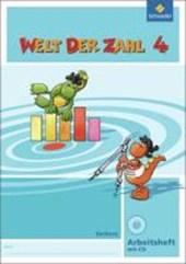 Welt der Zahl 4. Arbeitsheft mit CD-ROM. Sachsen