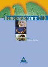 Demokratie heute 9/10. Schülerband. Nordrhein-Westfalen