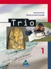 Trio 1 5/6. Gesellschaftslehre. Schülerband. Hessen