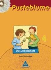 Pusteblume. Das Lesebuch 4. Arbeitsheft. Neubearbeitung. Baden-Württemberg
