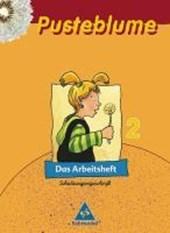 Pusteblume. Das Sprachbuch 2. Arbeitsheft Schulausgangsschrift. Sachsen