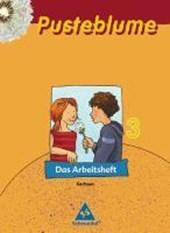 Pusteblume 3. Das Sprachbuch. Arbeitsheft. Sachsen