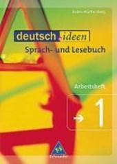 deutsch.ideen 1. Arbeitsheft. Baden-Württemberg