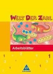 Welt der Zahl 1. Arbeitsheft. Hessen, Rheinland-Pfalz, Saarland. Neubearbeitung