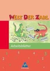 Welt der Zahl 3. Arbeitsheft. Hessen, Rheinland-Pfalz, Saarland. Neubearbeitung