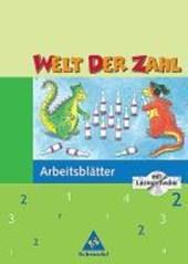 Welt der Zahl 2. Arbeitsblätter mit CD-ROM. Für Hessen, Rheinland-Pfalz, Saarland