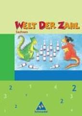 Welt der Zahl 2. Schülerband. Sachsen. Neubearbeitung