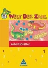 Welt der Zahl 1. Arbeitsheft. Berlin, Brandenburg, Mecklenburg-Vorpommern, Thüringen. Neubearbeitung