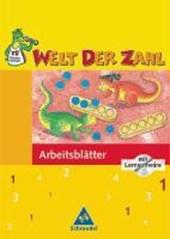 Welt der Zahl 1. Arbeitsheft mit CD-ROM. Für Berlin, Brandenburg, Mecklenburg-Vorpommern, Thüringen