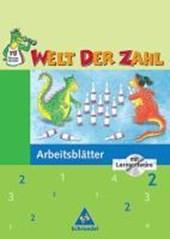 Welt der Zahl 2. Arbeitsheft mit CD-ROM. Für Berlin, Brandenburg, Mecklenburg-Vorpommern, Thüringen