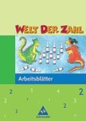 Welt der Zahl 2. Arbeitsheft. Nordrhein-Westfalen
