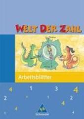 Welt der Zahl 4. Arbeitsheft. Nordrhein-Westfalen